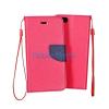 Microsoft Lumia 435 Fancy könyvtok - Rózsaszín