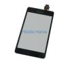 utángyártott Sony D2005 Xperia E1 fekete érintőpanel, touchpad mobiltelefon előlap