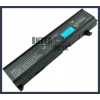 Toshiba Satellite M100 series 4400 mAh 6 cella fekete notebook/laptop akku/akkumulátor utángyártott