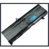 Toshiba Satellite A105 series 6600 mAh 9 cella fekete notebook/laptop akku/akkumulátor utángyártott