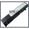 Toshiba Qosmio F20 Series 4400 mAh 6 cella fekete notebook/laptop akku/akkumulátor utángyártott