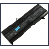 Toshiba Satellite M105-S1000 Series 6600 mAh 9 cella fekete notebook/laptop akku/akkumulátor utángyártott
