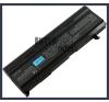 Toshiba PA3451U-1BRS 6600 mAh 9 cella fekete notebook/laptop akku/akkumulátor utángyártott toshiba notebook akkumulátor