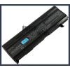Toshiba Satellite A135 Series 6600 mAh 9 cella fekete notebook/laptop akku/akkumulátor utángyártott