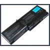 Toshiba Satellite P200D Series 6600 mAh 9 cella fekete notebook/laptop akku/akkumulátor utángyártott