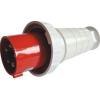 Tracon Electric Ipari csatlakozó dugó, fokozott védelemmel - 63A, 400V, 3P+N+E, IP67 TICS-035 - Tracon