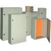 Tracon Electric Fém elosztószekrény, acél, szürke (RAL7032) - LxWxH=400x300x200mm, IP55 TFE403020 - Tracon