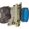 Schneider Electric Led-es jelzőlámpa, kék, 230v - Fém működtető- és jelzőkészülékek-harmony 4-es sorozat-22mm - Harmony xb4 - XB4BVM6 - Schneider Electric