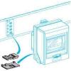 Schneider Electric - KNB160ZL30 - Canalis - Tokozott síncsatorna-canalis kn