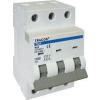 Tracon Electric Kismegszakító, 3 pólus, C karakterisztika - 13A, 10kA TDA-3C-13 - Tracon