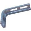 Metalodom Horganyzott oldalfali tartó konzol L 150x400 mm