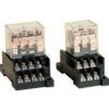 Tracon Electric Miniatűr teljesítmény relé - 24V AC / 2xCO (10A, 230V AC / 28V DC) RL08-24AC - Tracon