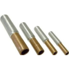 Tracon Electric Szigeteletlen réz-alumínium (Cu-Al) toldóhüvely - 35/70mm2, (d1=8,5mm, d2=11mm) RT3570 - Tracon