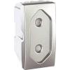 Schneider Electric UNICA TOP Csatlakozóaljzat védőföldelés nélkül gyerekvédelemmel 10 A IP20 Alumínium MGU3.031.30 - Schneider Electric