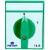 Metop beépíthető ipari kézikapcsoló 3 pólus 16A kétállásu 0-1