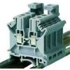 Tracon Electric Fázisvezető ipari sorozatkapocs, csavaros, sínre, szürke - 2,5-16mm2, 800V, 101A TSKA16 - Tracon