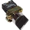 Tracon Electric Karos kapcsoló, fémalap, háromállású - 2xNO, 3A/230V AC, IP42 NYBD33KST - Tracon