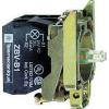 Schneider Electric Led-es világító nyomógomb aljzat, zöld, 230v - Fém működtető- és jelzőkészülékek-harmony 4-es sorozat-22mm - Harmony xb4 - ZB4BW0M33 - Schneider Electric