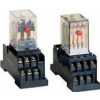 Tracon Electric Miniatűr relé - 110V DC / 2xCO, (3A, 230V AC / 28V DC) RM09-110DC - Tracon