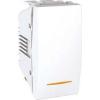 Schneider Electric UNICA ALLEGRO Váltókapcsoló jellenőrzőfénnyel 10 A IP20 Fehér MGU3.103.18S - Schneider Electric