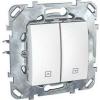 Schneider Electric UNICA PLUS Redőnykapcsoló 10 A IP20 Fehér MGU50.208.18Z - Schneider Electric