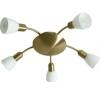 Rabalux Mennyezeti spot lámpa 5 ágú bronz/fehér opál Soma 6310 Rábalux világítás
