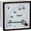 Tracon Electric Analóg váltakozó áramú voltmérő - 72x72mm, 250V AC ACVM72-250 - Tracon