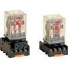 Tracon Electric Ipari relé - 110V AC / 2xCO, (3A, 230V AC / 28V DC) RM08-110AC - Tracon