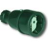 PCE gumi lengő dugaszoló aljzat 220V 16A IP20