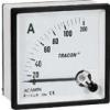 Tracon Electric Analóg váltakozó áramú ampermérő közvetlen méréshez - 72x72mm, 75A AC ACAM72-75 - Tracon