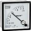 Tracon Electric Teljesítménytényező mérő, háromfázisú - 72x72mm, 400V AC, 0,5 CF72-0_51 - Tracon