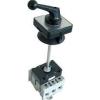 Tracon Electric Szakaszoló kapcsoló ajtókupplunggal - 400V, 50Hz, 80A, 4P, 22kW, 64x64mm TS-804K - Tracon