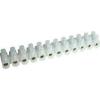 Tracon Electric Flexibilis sorozatkapocs, U profil, 12 tag, natúr - 10mm2, 450V, 50A, PE S15A-U - Tracon
