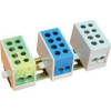 Tracon Electric Főáramköri leágazó kapocs, sínre szerelhető, kék - 2x16mm2 / 2x16mm2, 500V, 76A FLE-16K - Tracon