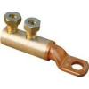 Tracon Electric Szakadófejes csavaros réz-alumínium szemes csősaru - 95-150mm2, 2x(2xM16) RA95-150CS12 - Tracon