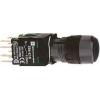Schneider Electric Komplett nyomógomb, fekete - Műanyag működtető- és jelzőkészülék-harmony 5-os sorozat-22mm - Harmony xb6 - XB6AA22B - Schneider Electric