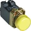 Tracon Electric Tokozott jelzőlámpa, fémalap, sárga, transzformátorral - 3A/400V AC, IP44, NYGI6 NYGBV55ST - Tracon