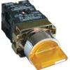 Tracon Electric Világítókaros kapcsoló, fémalap, sárga, LED, háromállású - 1xNC+1xNO, 3A/400V AC, IP42 NYGBK3565S - Tracon