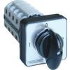 Tracon Electric Tokozott választókapcsoló, 1-0-2 - 400V, 50Hz, 32A, 2x4P, 11kW, 64x64mm, 90°, IP44 TKV-3294T - Tracon