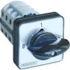 Tracon Electric Tokozott választókapcsoló, 0-1-2 - 400V, 50Hz, 20A, 2x3P, 5,5kW, 48x48mm, 90°, IP44 TKB-2093T - Tracon