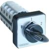 Tracon Electric Választókapcsoló, 0-1-2 - 400V, 50Hz, 125A, 2x4P, 30kW, 88x88mm, 60° TKB-1264 - Tracon