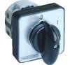 Tracon Electric Tokozott kézikapcsoló, BE-KI - 400V, 50Hz, 25A, 2P, 7,5kW, 48x48mm, 60°, IP65 TK-2562T65 - Tracon villanyszerelés