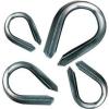 Tracon Electric Kötélszív kötél-és sodronyvégződések kialakítására, acél - d=3-4mm SZIV-4 - Tracon