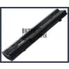 Eee PC 1001PQ 4400 mAh 6 cella fekete notebook/laptop akku/akkumulátor utángyártott
