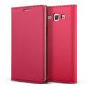 VERUS Samsung Galaxy A5 Crayon Slim Standing Diary mágneses eredeti bőr flip hátlap, tok, rózsazsín
