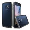 VERUS Samsung Galaxy S6 IRON BUMPER hátlap, tok, fekete-titánium szürke