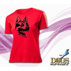 Dogs & Sport Német juhászkutya női póló (férfi rövid ujjú póló )