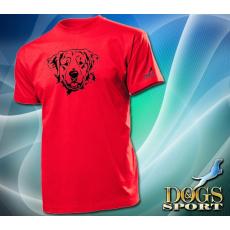 Dogs & Sport Golden retriever férfi póló (férfi rövid ujjú póló )