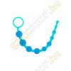 ToyJoy Thai Toy Beads zselés anál gyöngysor - kék
