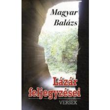 Magyar Balázs Lázár feljegyzései irodalom